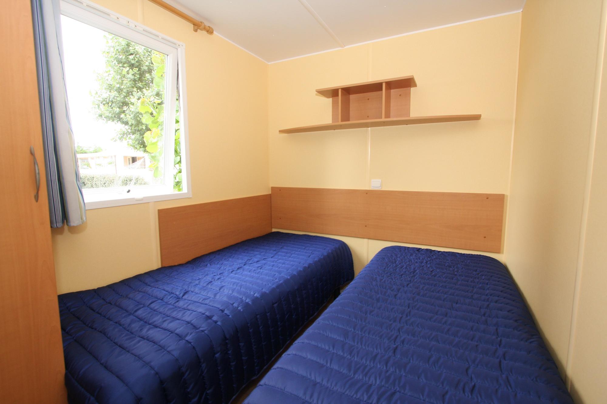 2 lits de 90 mobil home camping saint gilles croix de vie