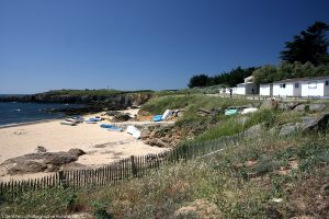 Plages de l'Ile d'Yeu accessible du camping via embarcadere