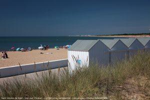 Cabines de plage Saint Hilaire de Riez