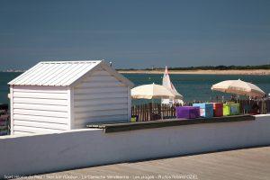 Café sur la plage Saint Hilaire de Riez