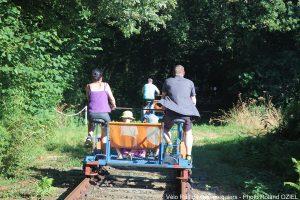 Camping proche du vélo rail