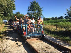 Le Vélo rail de Commequiers proche du camping